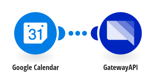 Receive an SMS message for each new Google calendar event