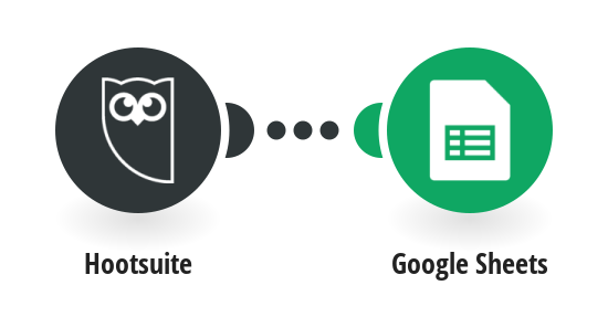 Add new rows with data about Outbound messages in Hootsuite to Google Sheets spreadsheet