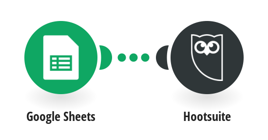 Send invitations to join Hootsuite to people from a list in Google Sheets