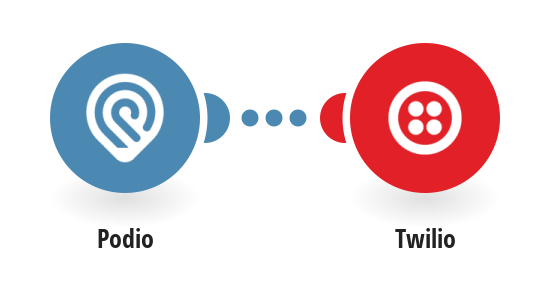 Send Twilio SMS messages for new Podio tasks