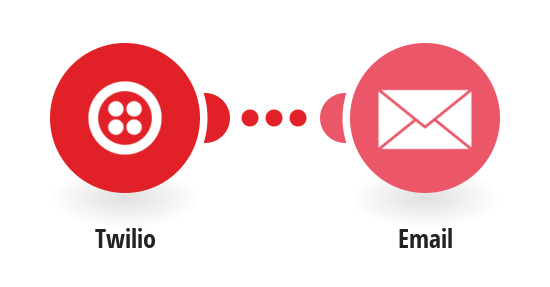 Send emails for new Twilio SMS messages