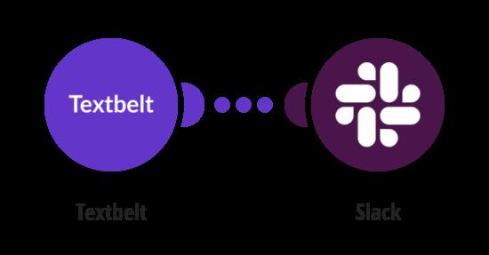 Send Slack messages when your Textbelt quota drops below a certain limit