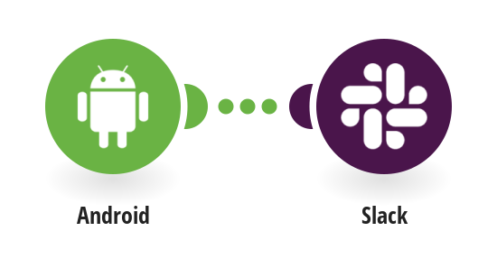 Send messages in Slack when your Android device changes its GPS location