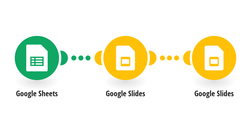 Create a presentation in Google Slides with data and images from Google Sheets