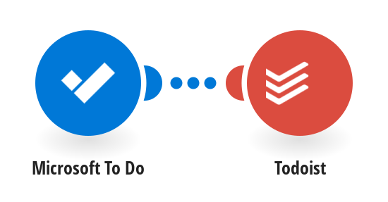 Add new Microsoft To Do tasks to Todoist as tasks