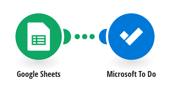 Create Microsoft To-Do Tasks from new Google Sheets spreadsheet rows