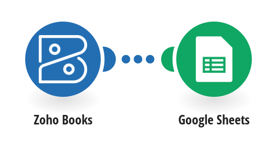 Save new Zoho Books invoices to a Google Sheets spreadsheet