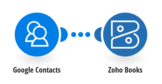 Add new Google Contacts to Zoho Books as customers