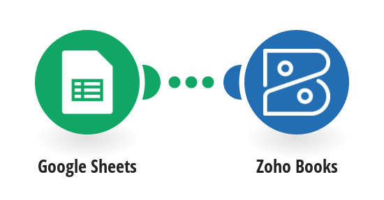 Create Zoho Books vendors from a Google Sheets spreadsheet