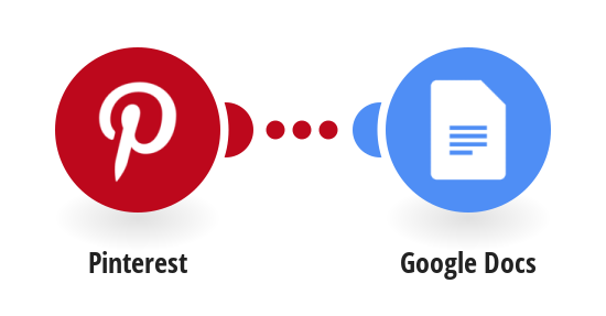 Append images from a new pin in Pinterest to a Google Docs document