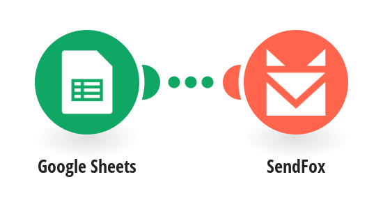 Create a SendFox contact from new Google Sheets rows