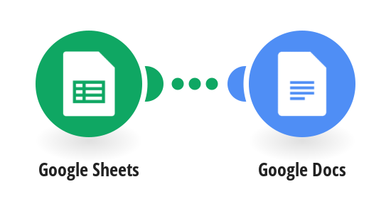Create a Quote with Google Docs for each new row in Google Sheets.