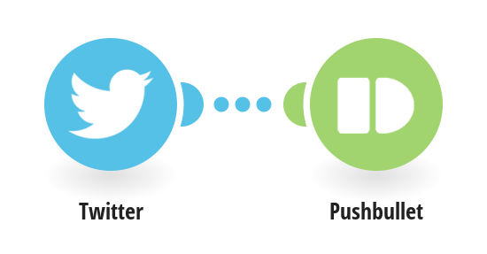 Get Pushbullet notes for new messages on your Twitter account