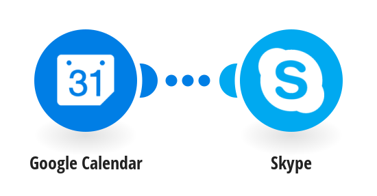 Send Skype message for Google Calendar New Events