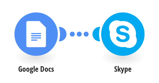 Get Skype message for any updated Google Doc