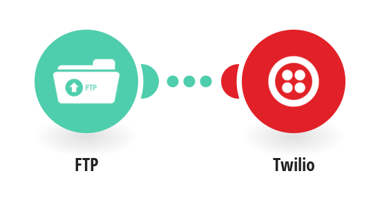 Send Twilio SMS messages for new files on your FTP server