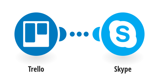Send a Skype message when a new Trello card is created