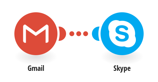 Send a Skype message when a new Email is received on Gmail