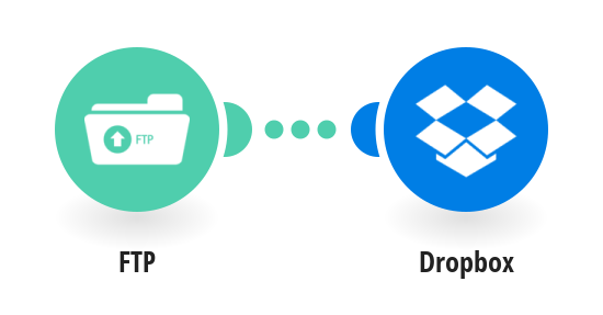Save new files added to your FTP server to Dropbox