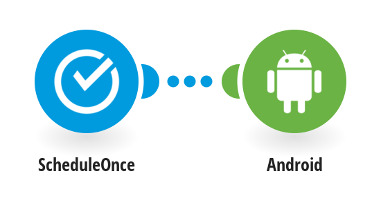 Send SMS with Andriod when a meeting is booked with ScheduleOnce