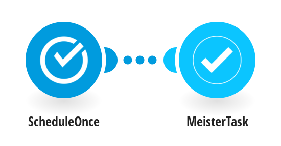 Create a new MeisterTask task from new ScheduleOnce appointments
