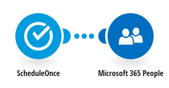 Create a new contact with Office 365 People when a meeting is booked with ScheduleOnce