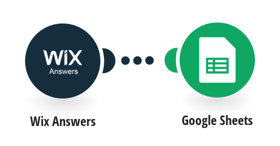 Save Wix Answers tickets to Google Sheets