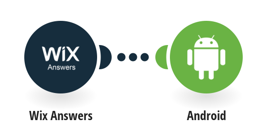 Send Android push notifications for new Wix Answers tickets