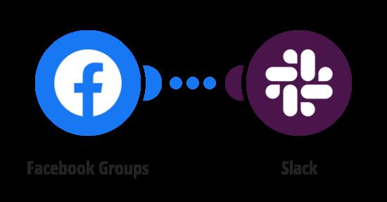 Zpráva na Slack o novém příspěvku ve Facebook skupině