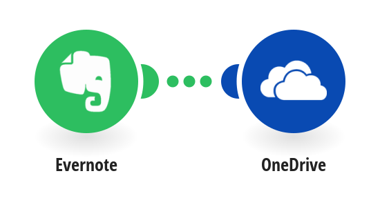 Save Evernote notes to OneDrive