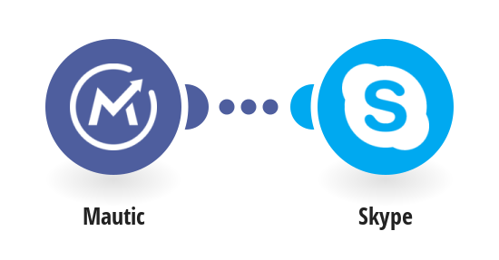 Send Skype message when a new contact is created on Mautic