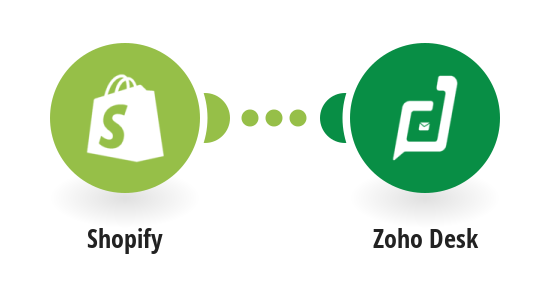 Create Zoho Desk contact from new Shopify customer