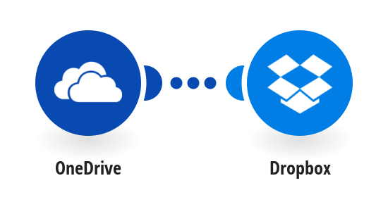 Upload new OneDrive files to Dropbox