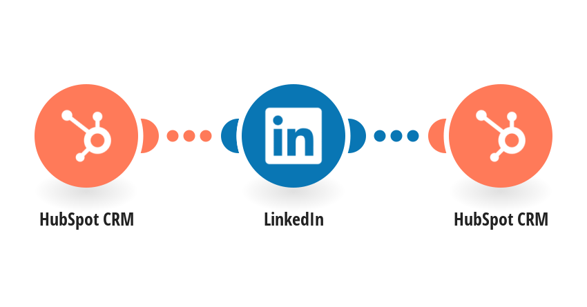 Add Linkedin contact info to new HubSpot CRM company