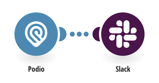 Send Slack messages for new Podio tasks