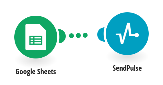 Send emails with SendPulse for new Google Sheets rows.