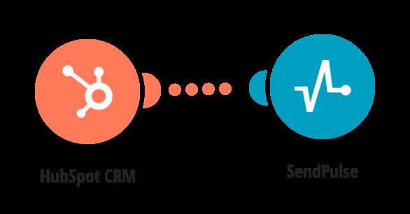 Send SendPulse emails for new HubSpot CRM contacts.