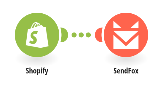 Add new Shopify customers as new SendFox contacts