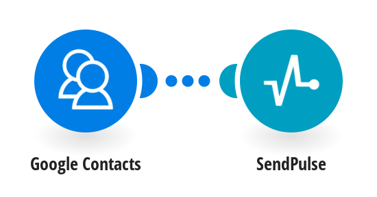 Add new Google contacts to a SendPulse mailing list.