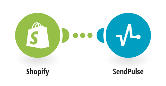 Add new Shopify customers to a SendPulse mailing list.