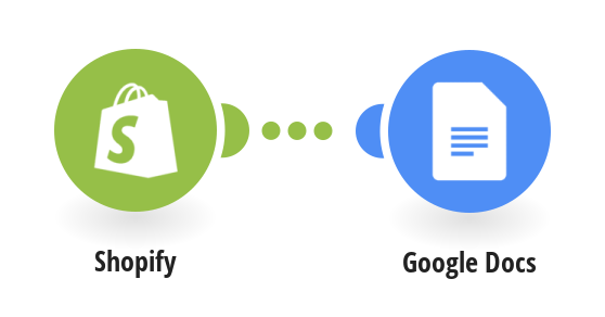 Create product sheets from a Google Docs template for all Shopify items