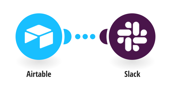 New Airtable records sent as a Slack message