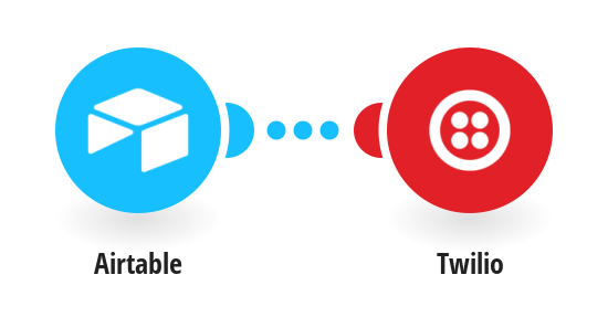 New Airtable records sent as a Twilio message