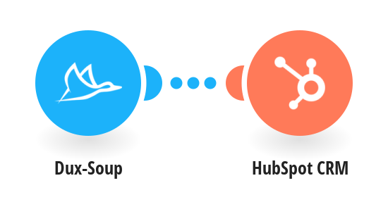 Connect Dux-Soup to HubSpot CRM - Create/Update a Contact