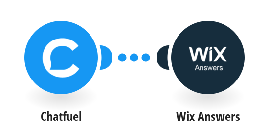 Create Wix Answers tickets from new Chatfuel conversations