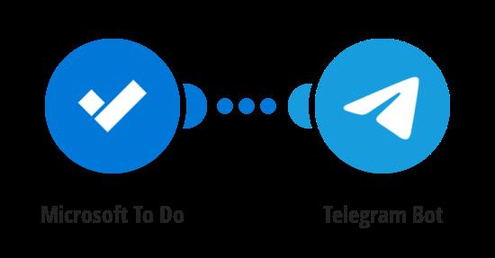 Send Telegram messages for new Microsoft To Do tasks
