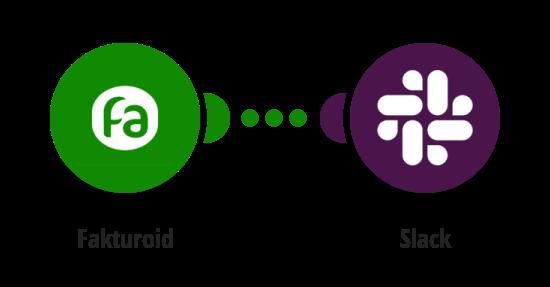 Zpráva na Slack o nové faktuře ve Fakturoidu
