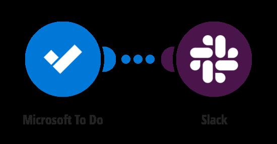Send Slack messages for new Microsoft To Do tasks