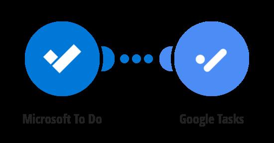 Create Google Tasks for new Microsoft To Do tasks
