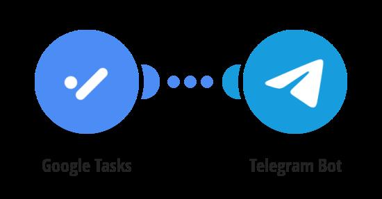 Send Telegram messages for new Google Tasks